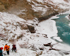 http://m.thegreatnext.com/Chadar Trekking Ladakh Jammu Kashmir Adventure Travel The Great Next