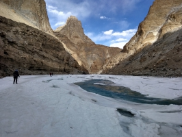 Iconic Chadar Trek in Ladakh