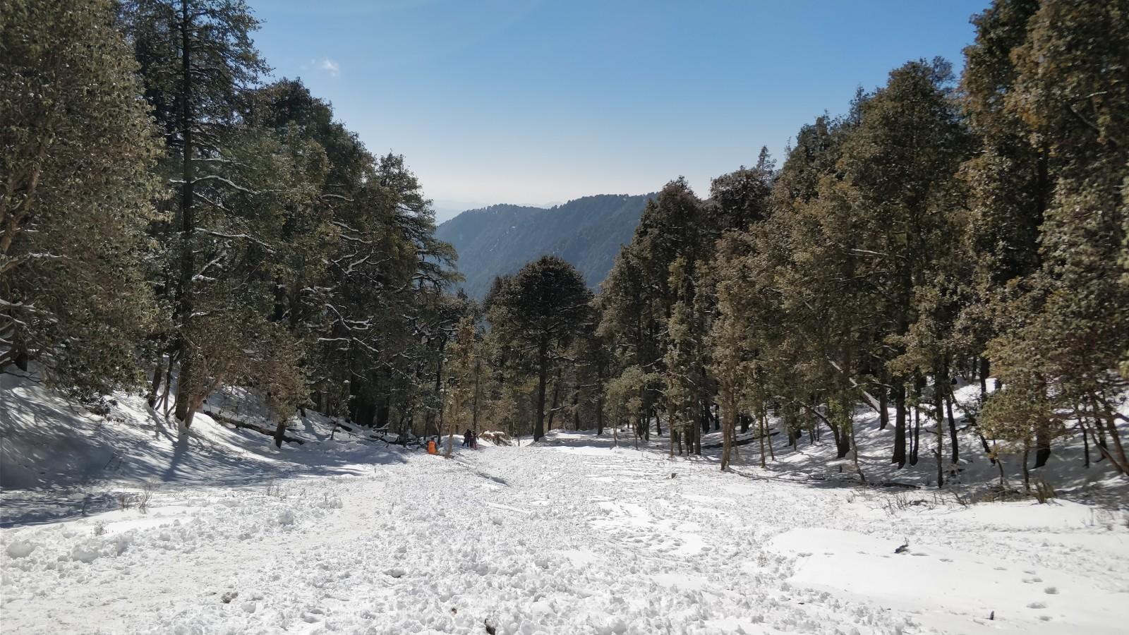 Trek to Brahmatal Lake