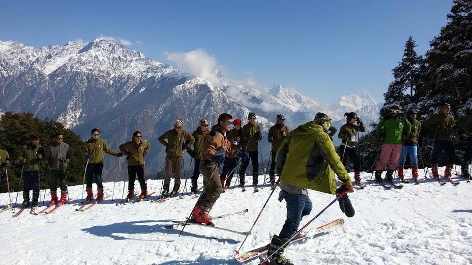 http://www.thegreatnext.com/Skiing in Auli Uttarakhand Adventure Travel The Great Next
