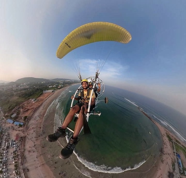 http://www.thegreatnext.com/Paramotoring Vizag Andhra Pradesh Visakhapatnam Adventure Travel The Great Next