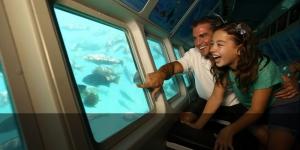 Semi-submarine ride in Andaman Islands