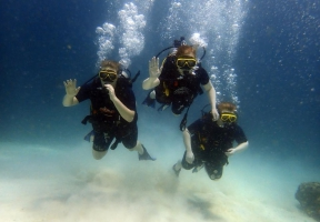 PADI Scuba Diver in Phuket, Thailand