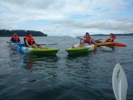 Day Kayaking at Havelock Island