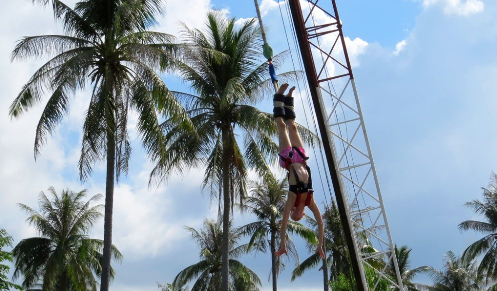 http://m.thegreatnext.com/Bungee Jumping Koh Samui Thailand Adventure Travel The Great Next