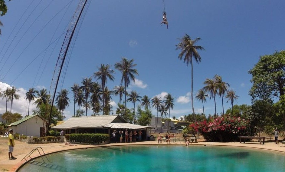 http://www.thegreatnext.com/Bungee Jumping Koh Samui Thailand Adventure Travel The Great Next