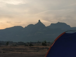 Trekking and rappelling at Sandhan Valley (Ex-Pune)