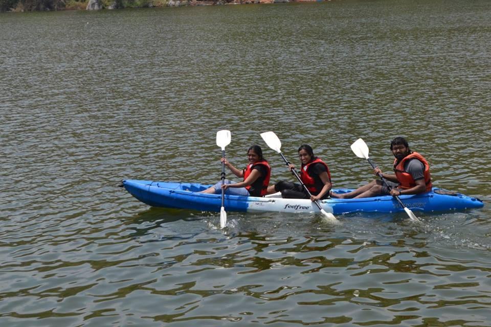 http://m.thegreatnext.com/Camping Kayaking Manchanbele Karnataka Bangalore Adventure Travel The Great Next