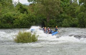 Rafting day trip in Kolad (weekday)