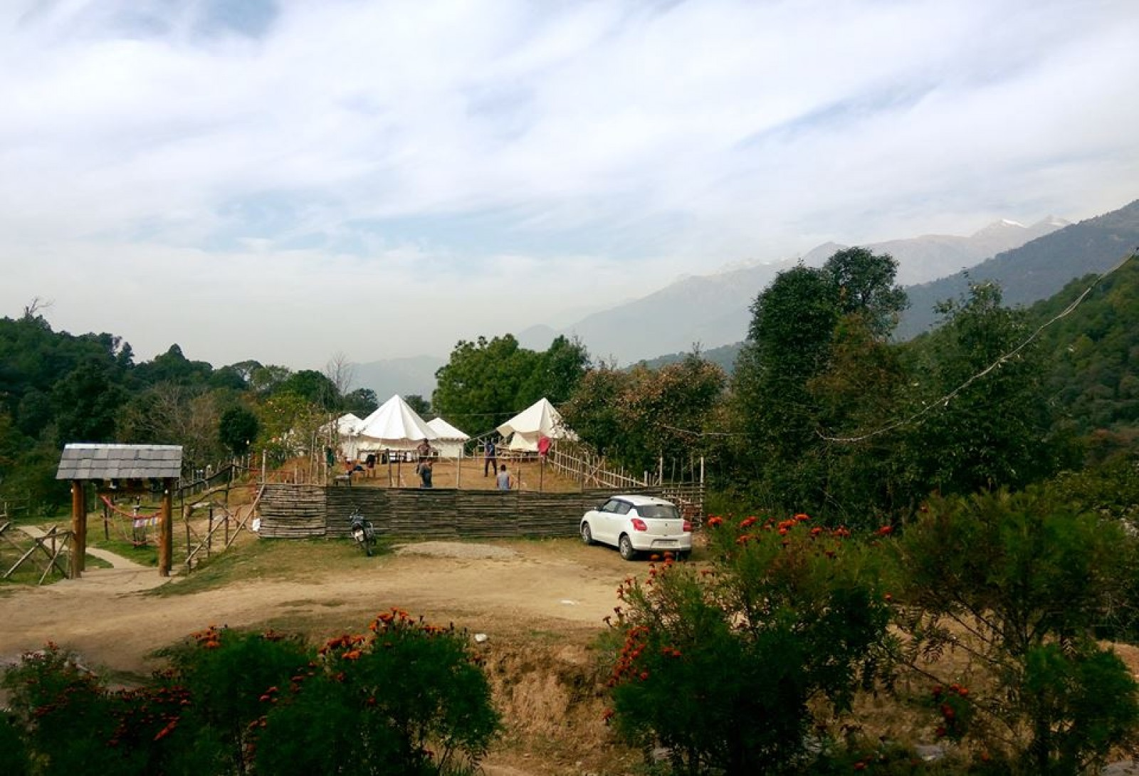 Camping in Bir Biling with executive tent stay