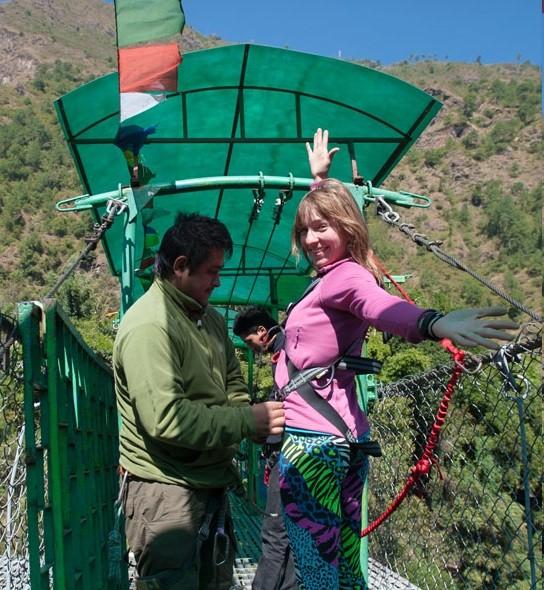 http://m.thegreatnext.com/Bungee Jump Giant Swing Nepal Kathmandu Adventure Travel The Great Next