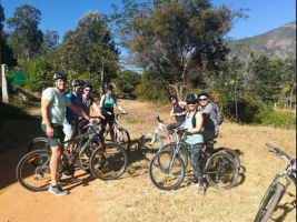 Cycling tour of Nandi Hills