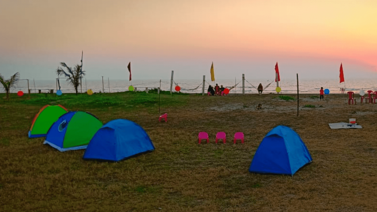 http://m.thegreatnext.com/Beach Camping Revdanda Alibaug Maharashra Swimming The Great Next