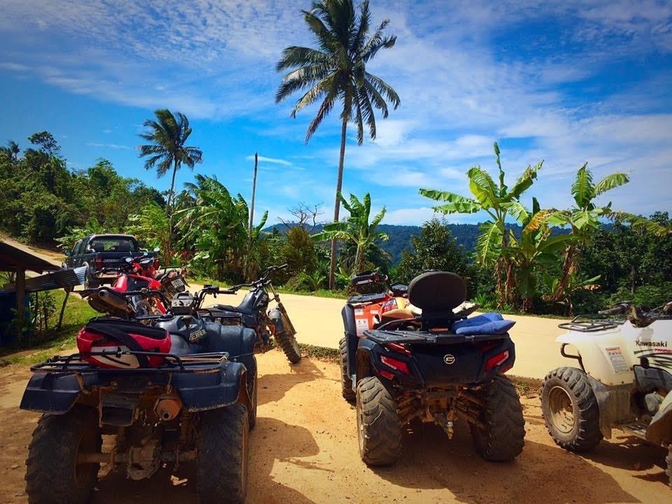 http://www.thegreatnext.com/ATV UTV Off-roading Koh Samui Forest Adventure Quad Bikes Thailand The Great Next