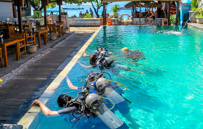 http://www.thegreatnext.com/PADI Scuba Diver course  Gili Air Bali Indonesia Travel Destinations Water Sports Scuba Course Adventure