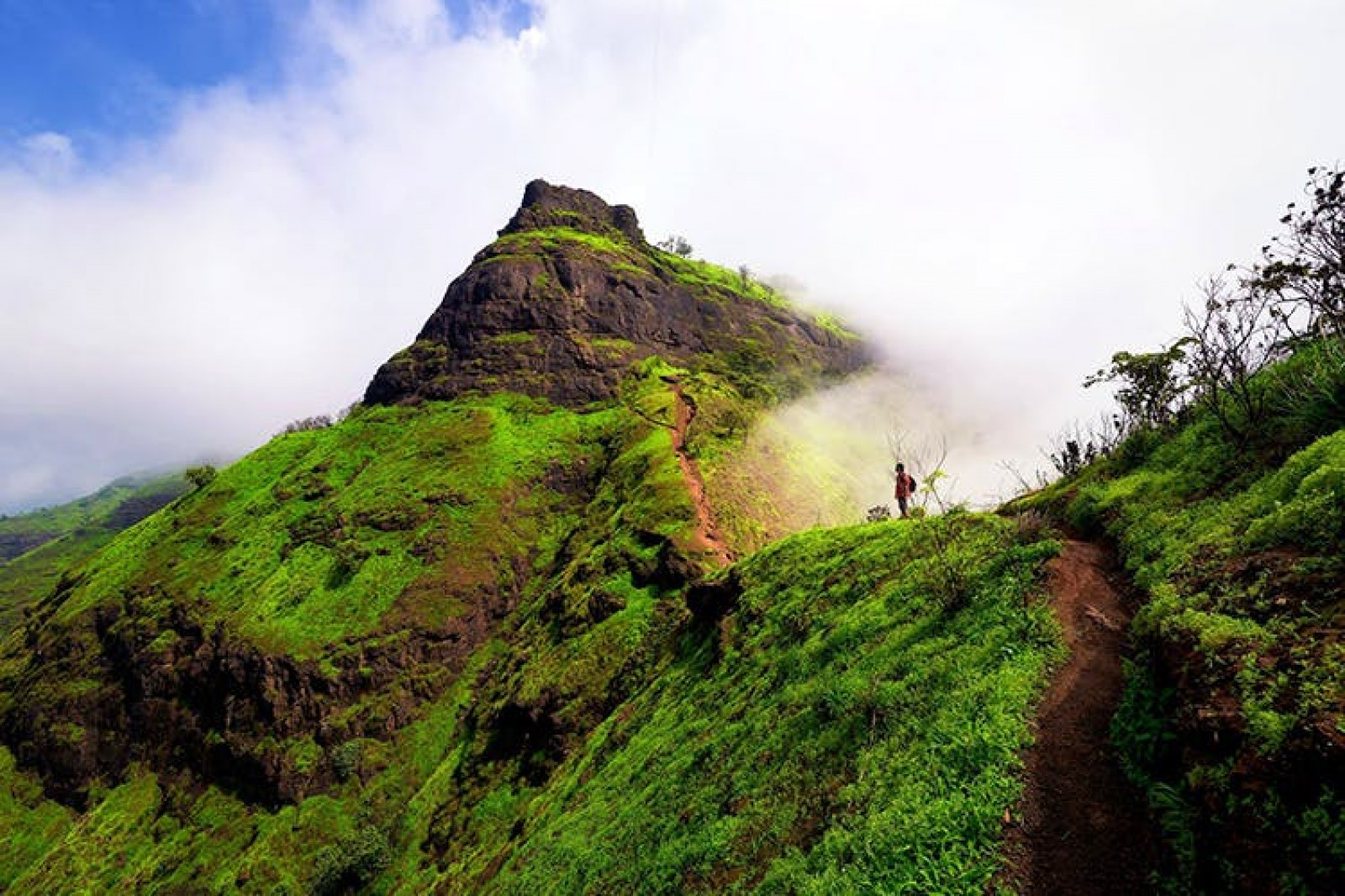 http://www.thegreatnext.com/Peb Fort Monsoon Trekking Sahyadris Maharashtra Pune The Great Next
