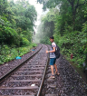 http://m.thegreatnext.com/Dudhsagar Waterfall trek Goa Karnataka Trekking Adventure Activity Journeys Destinations Nature