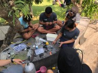 http://www.thegreatnext.com/PADI Open Water Diver Course Padangbai Bali Adventure Train Learn The Great Next