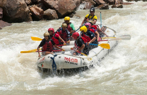 Day Rafting on the Ganges: Kodiyala-Laxman Jhula 35 kms