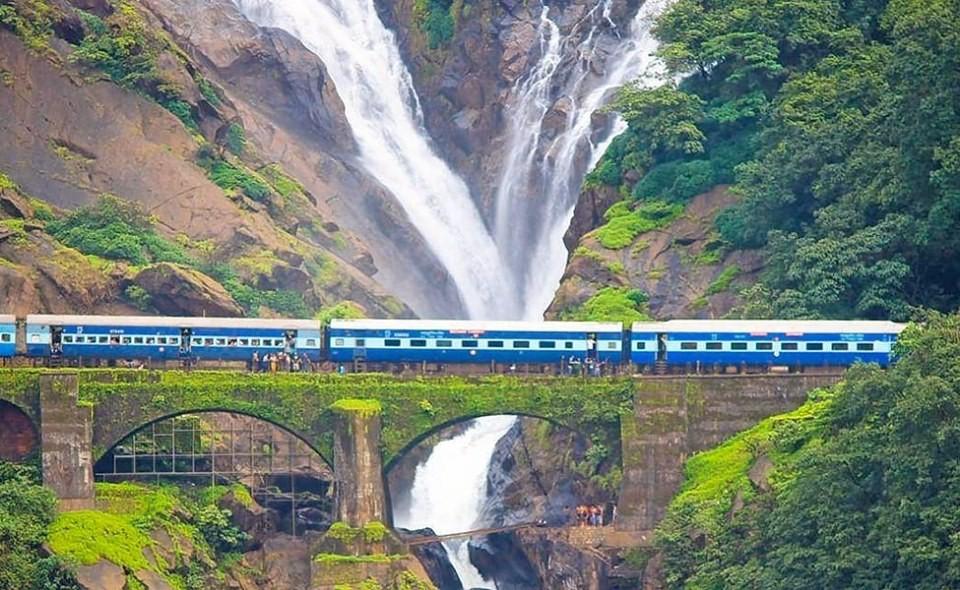 http://www.thegreatnext.com/Dudhsagar Waterfall Trekking Pune Goa Maharastra The Great Next