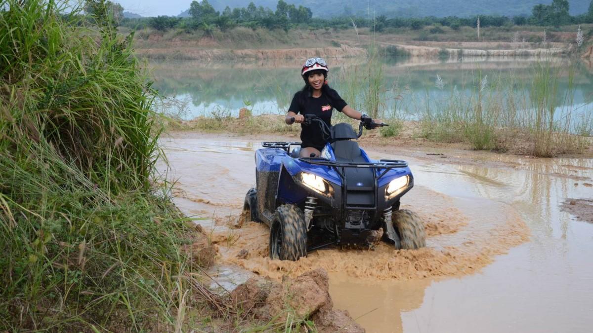http://www.thegreatnext.com/ATV Ride Fun Tour Beginners Novice Off-road Pattaya Thailand The Great Next