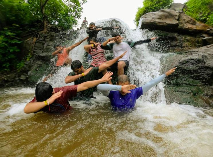 http://www.thegreatnext.com/Bhivpuri Bekre Waterfall Rappelling Maharashtra Mumbai Nature Trekking Adventure Activity Travel Destinations