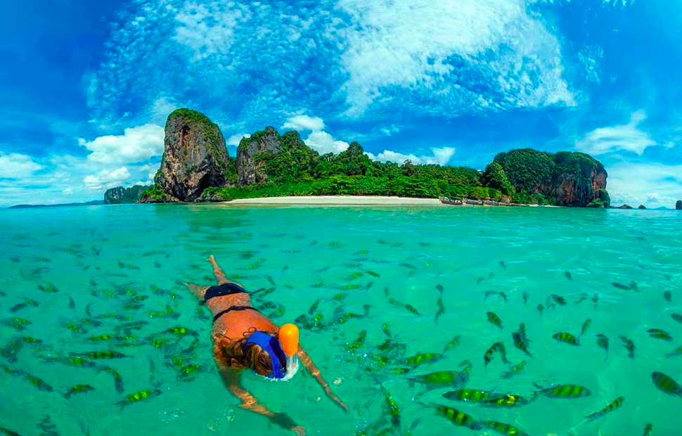 http://www.thegreatnext.com/Hong Island Snorkeling tour Thailand Krabi Water Sports Adventure Travel Destinations
