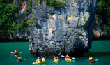 http://m.thegreatnext.com/Kayaking in Phuket Thailand Phang Nga Bay Adventure Travel Destinations
