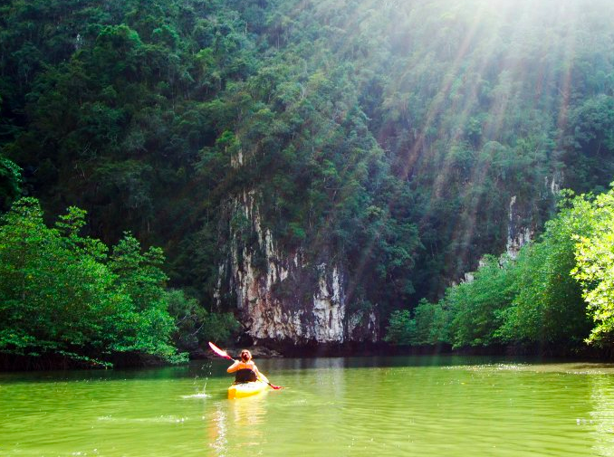 http://www.thegreatnext.com/Kayaking in Phuket Thailand Phang Nga Bay Adventure Travel Destinations