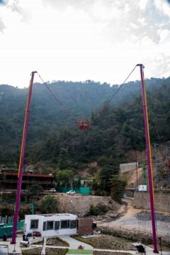 http://m.thegreatnext.com/Reverse Bungee High Low Ropes Course Rishikesh Uttarakhand Thrill Factory Park Adventure Travel The Great Next