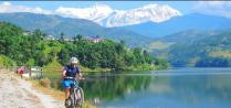 http://m.thegreatnext.com/Fewa Lake Begnas Lake Mountain Cycling Biking Pokhara Nepal Adventure Activity Destination Places Himalayas Travel