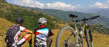 http://www.thegreatnext.com/Sarankot Mountain Cycling Biking Pokhara Nepal Adventure Activity Destination Places Himalayas Travel