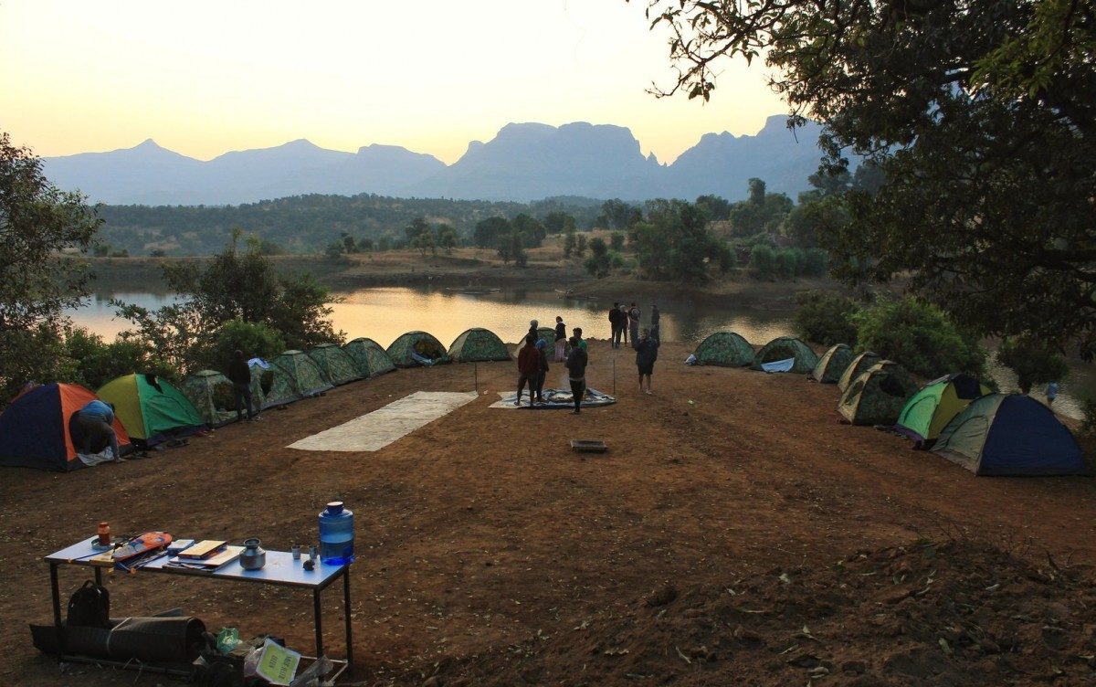 http://m.thegreatnext.com/Floating Tent Camping Kurungwadi Maharashtra The Great Next Adventure Travel
