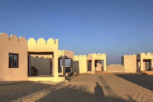 Camping in Jaisalmer with AC Cottage Stay