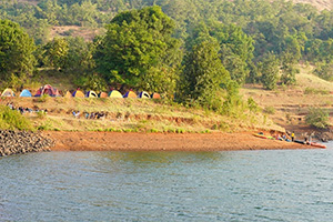 New Year Special: Lakeside Camping near Igatpuri