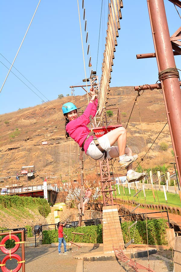 http://www.thegreatnext.com/Adventure Escape Della Adventure Zorbing Rock Climbing Lonavala Ziplining Weekend