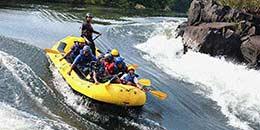 http://www.thegreatnext.com/Adventure White Water Rafting Kundalika Kolad Maharashtra