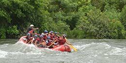 http://www.thegreatnext.com/White Water Rafting Kundalika Kolad Maharashtra Adventure