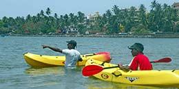 http://www.thegreatnext.com/Kayaking Rental Baga Goa Adventure Nature