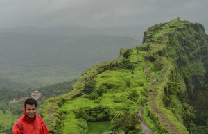 Monsoon day trek to Lohagad