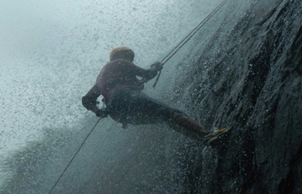 Waterfall Rappelling at Torna (Ex-Pune)