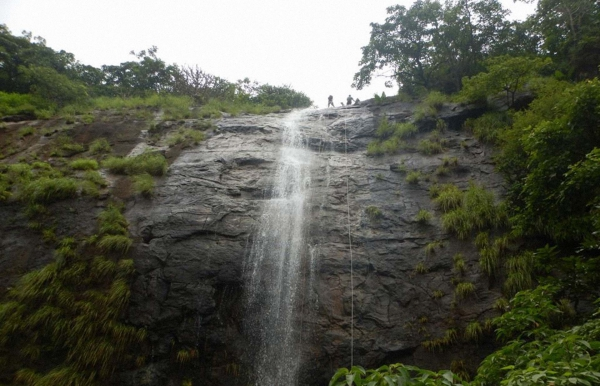 Waterfall Rappelling in Panshet-Ex Pune