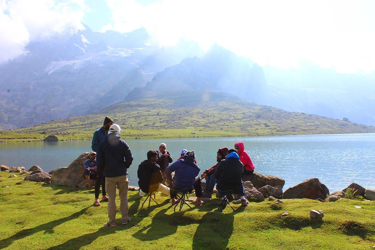 http://m.thegreatnext.com/Kashmir Trekking Adventure Great Lakes Jammu Kashmir Trekking