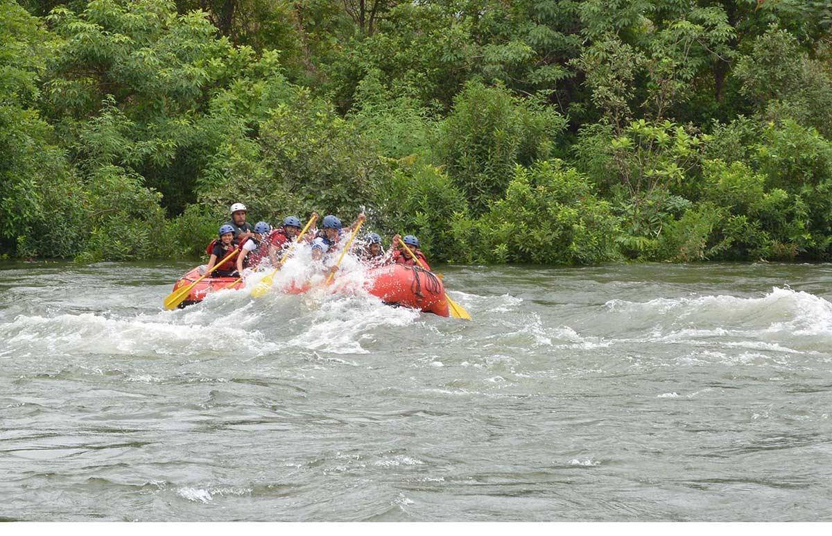 http://m.thegreatnext.com/White Water Rafting Kundalika Kolad Maharashtra Adventure