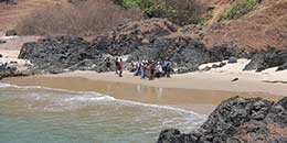 /Goa Adventure Trekking Ocean Trek Arambol Hiking