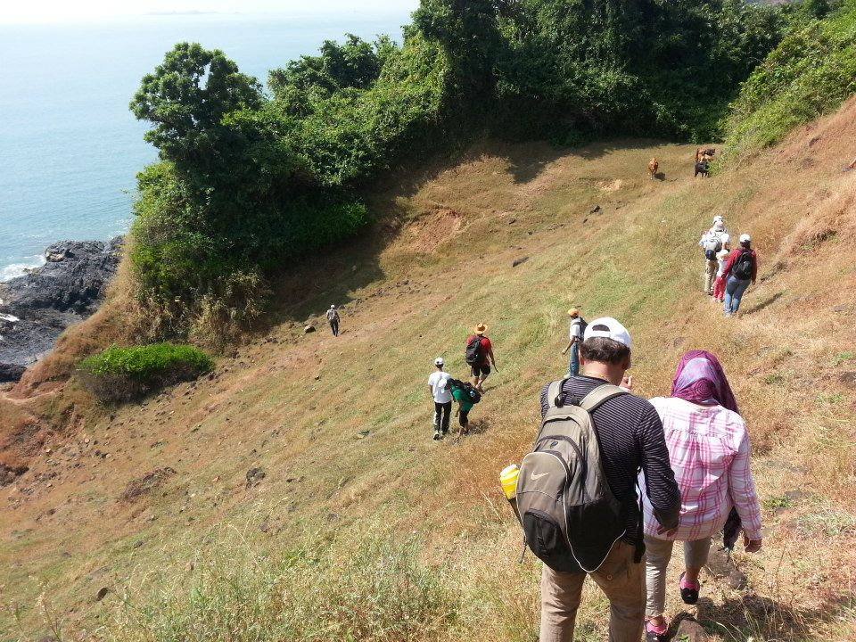 http://www.thegreatnext.com/Goa Adventure Trekking Ocean Trek Neuti Hiking