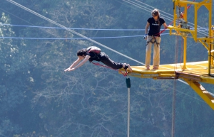 Thriller Combo: Bungee Jump+Giant Swing