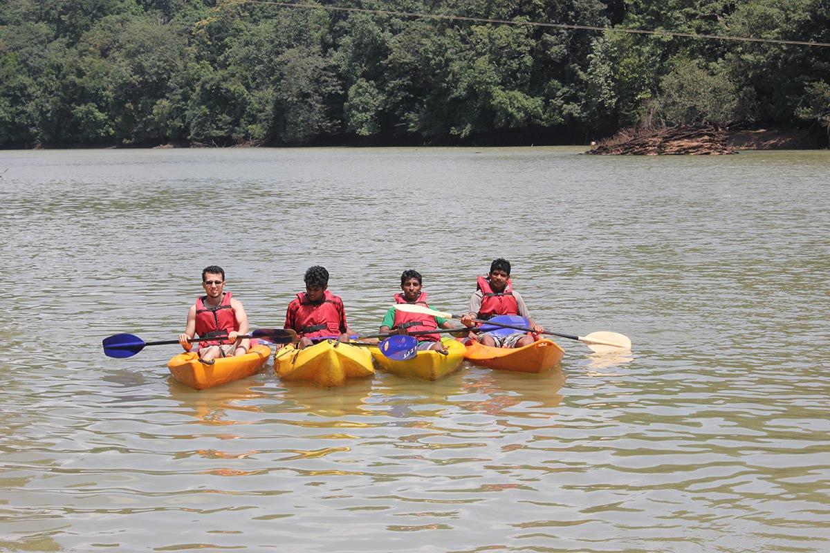http://m.thegreatnext.com/Karnataka Dandeli Rafting Safari Adventure Rappeling Kayaking Offbeat Travel Jungle Resort Activity Riverside