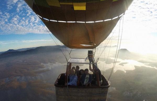 Hot air ballooning in Lonavala (Weekend)