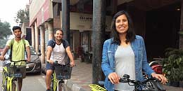 http://m.thegreatnext.com/New Delhi Cycling Adventure Travel Delhi India Cycle